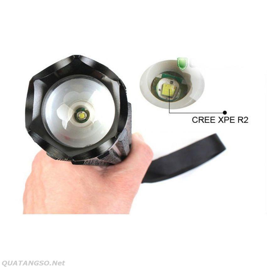 đèn pin tự vệ Police cree Q5 chính hãng phóng xa- www.Quatangso.net