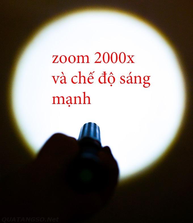 đèn pin tự vệ Police phóng xa- www.Quatangso.net